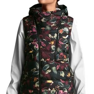 North face niche hooded down vest